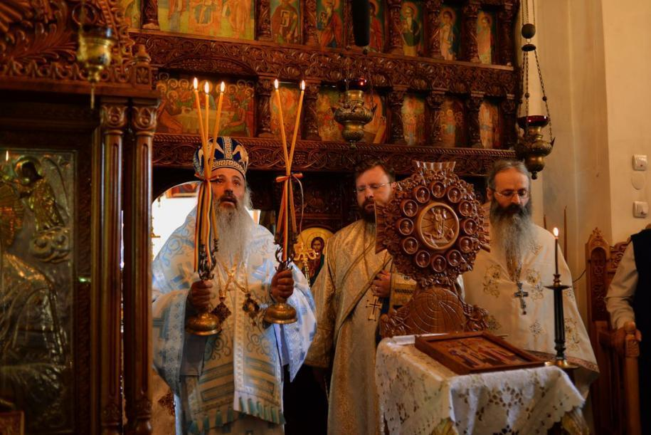 Mitropolitul Moldovei și Bucovinei prezent la hramul Schitului Boureni / foto: Bogdan Bulgariu
